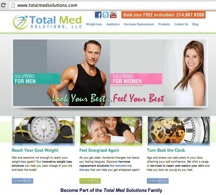 TotalMedSolutions_sitedesign